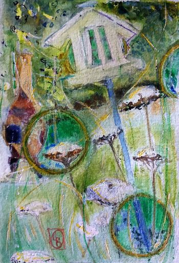Bird Table 2 6x4 Watercolour Surrey Artists'Open Studio for Chertsey Artist, 19 artists taking part at 6a Windsor Street Chertsey kT16 8AS from 11to12 and 18to19 June opening from 11am to 5pm The Purist (no Edit, No Filter) ArtWork I ❤️ Garden Watercolour EyeEm Hd Wallpapers