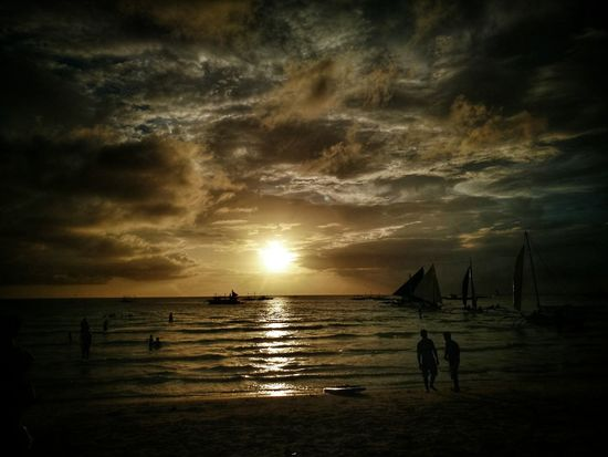 Boracay Sunset Sunset Cloud - Sky Scenics Dramatic Sky