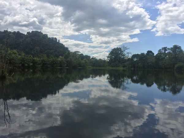 Beauty In Nature Cloud - Sky Day Lake Nature No People Outdoors Reflection Scenics Sky Tranquil Scene Tranquility Tree Water Waterfront Connected By Travel Lost In The Landscape EyeEmNewHere