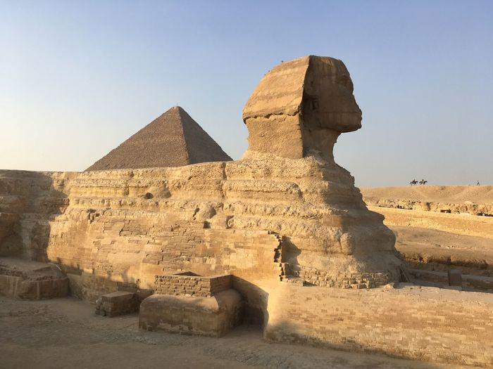Sphinx Egypt Sphinx EyeEm Selects Ancient History Architecture The Past Desert Ancient Civilization Pyramid Travel Destinations Sand Old Ruin