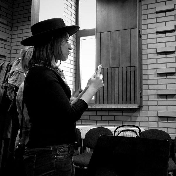 You Can Keep That Hat On ! Wejherowo 5 December 2015 Iphone 6 Plus IPhoneography Portrait Profile Streetphotography Streetphoto_bw EyeEm Best Shots EyeEm Masterclass Polishgirl Bnw Bnw_collection Wejherowo Poland IPSCreative