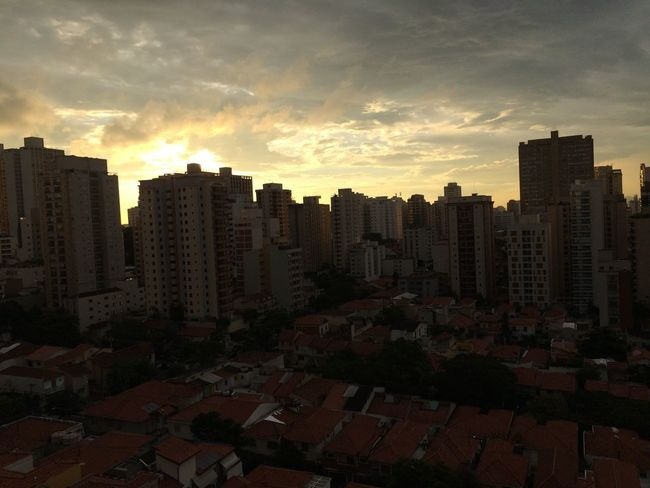 SAO PAULO BRAZIL Architecture Building Exterior Built Structure City Cityscape Cloud - Sky Day Modern No People Outdoors Sky Skyscraper Sunset Travel Destinations Urban Skyline