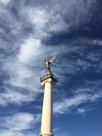 Travel Visit Mexico Chihuahua Angel History Revolution La Plaza del Angel