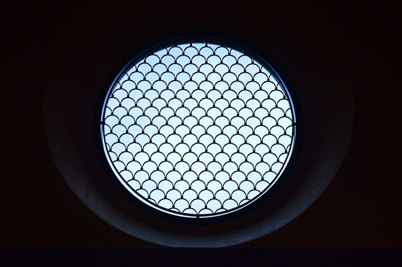 Porthole from Darkness to Light Circle Light Porthole Circular Window darkness and light Pattern Porthole Window, Shadow Window Window Sill