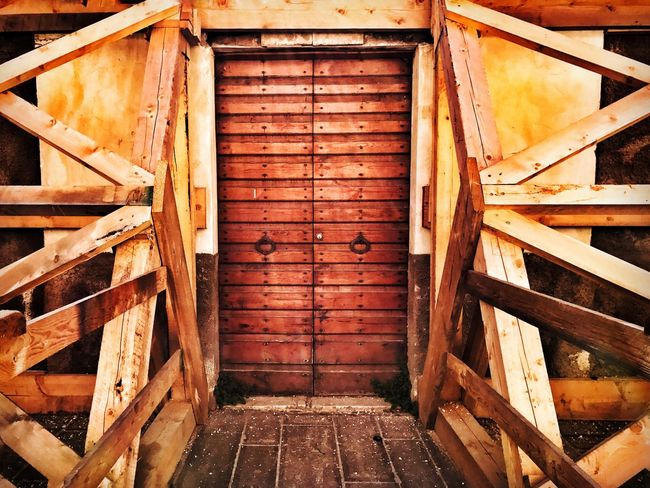 Umbria Norcia Wood - Material Architecture No People Outdoors Italy Earthquake