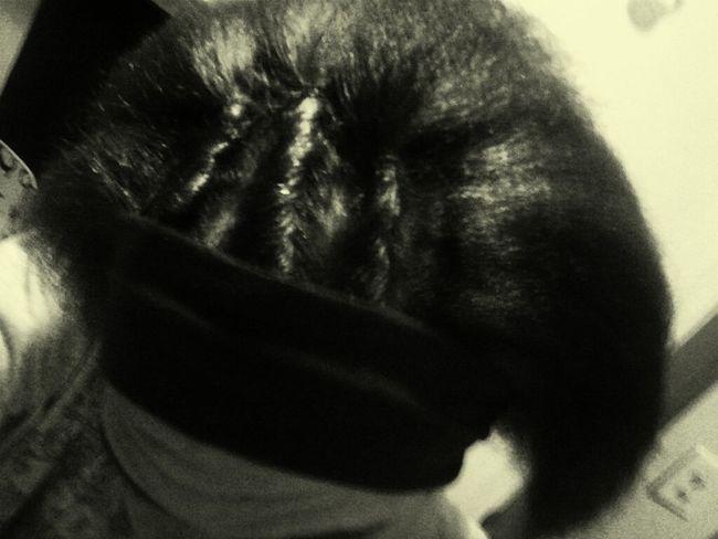 My hair. (: