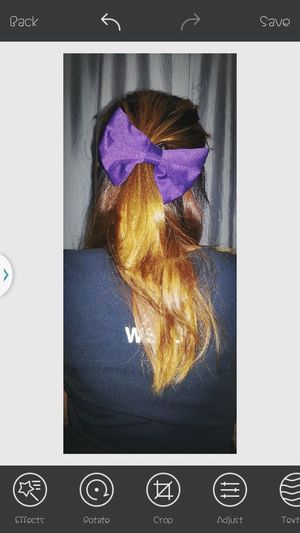 For the love of bows. ♥♥♥ Violet Large Hairbow