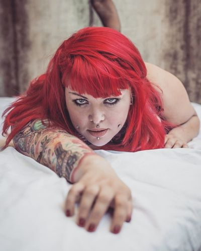 Guntphotoart Portrait Tattooed Inked Percings  Photooftheday Beautiful Sexygirl Fashion Photography Beatiful Girl Love Percings  Tattoos Tattooing