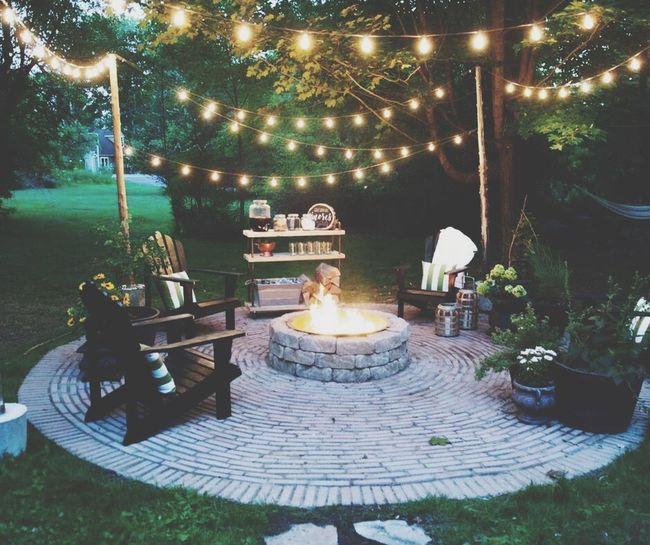 Garden party relax