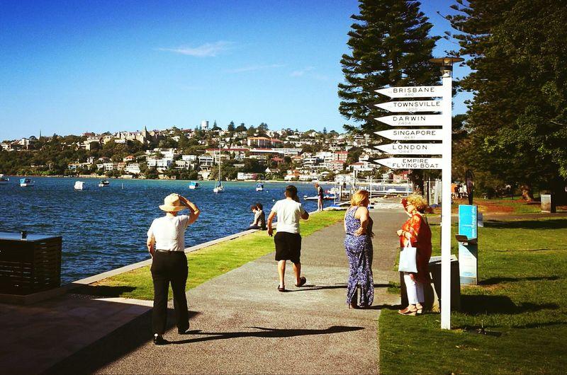 Seaplanes Sydney, Australia Miles Miles Away Distances Distant Plane Wind Windy Bay Bay View