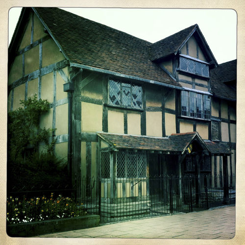 Exterior of the birth place of William Shakespeare, Stratford-Upon-Avon. Architecture Birthplace Building Building Exterior Built Structure City City Life Day Exterior Façade Home Of William Shakespear No People Outdoors Residential Building Residential Structure Sky William Shakespeare