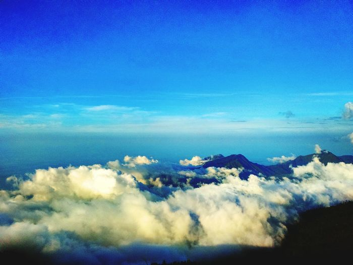 Mountain rinjani,from indonseia