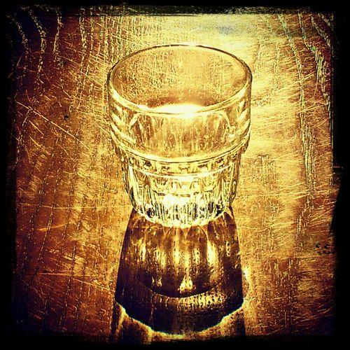 Glass Sun Light Antico Caffè Soriano Glass Reflection