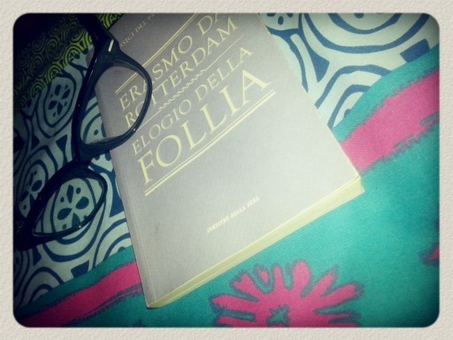 Book ♥ GoodNight ❤✌ I Love Read Erasmo da Rotterdam :)