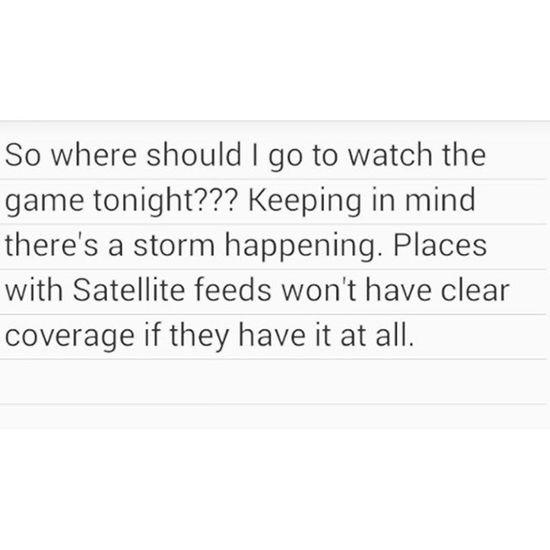 Gametime dilemma... Football NFL Wheretogo help