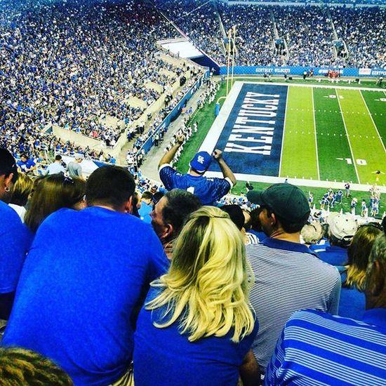 Dancing crazy! Weruk BBN Kentucky  Cats Wildcats Stoopstroops Lex Lexington Football Collegefootball