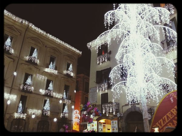 Salerno♡ Happy :) Christmas Lights Noël