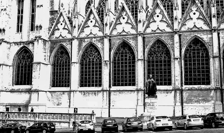 Architecture Building Exterior Built Structure Church Of Our Lady Of Laeken City Day No People Notre-Dame Outdoors Place Of Worship