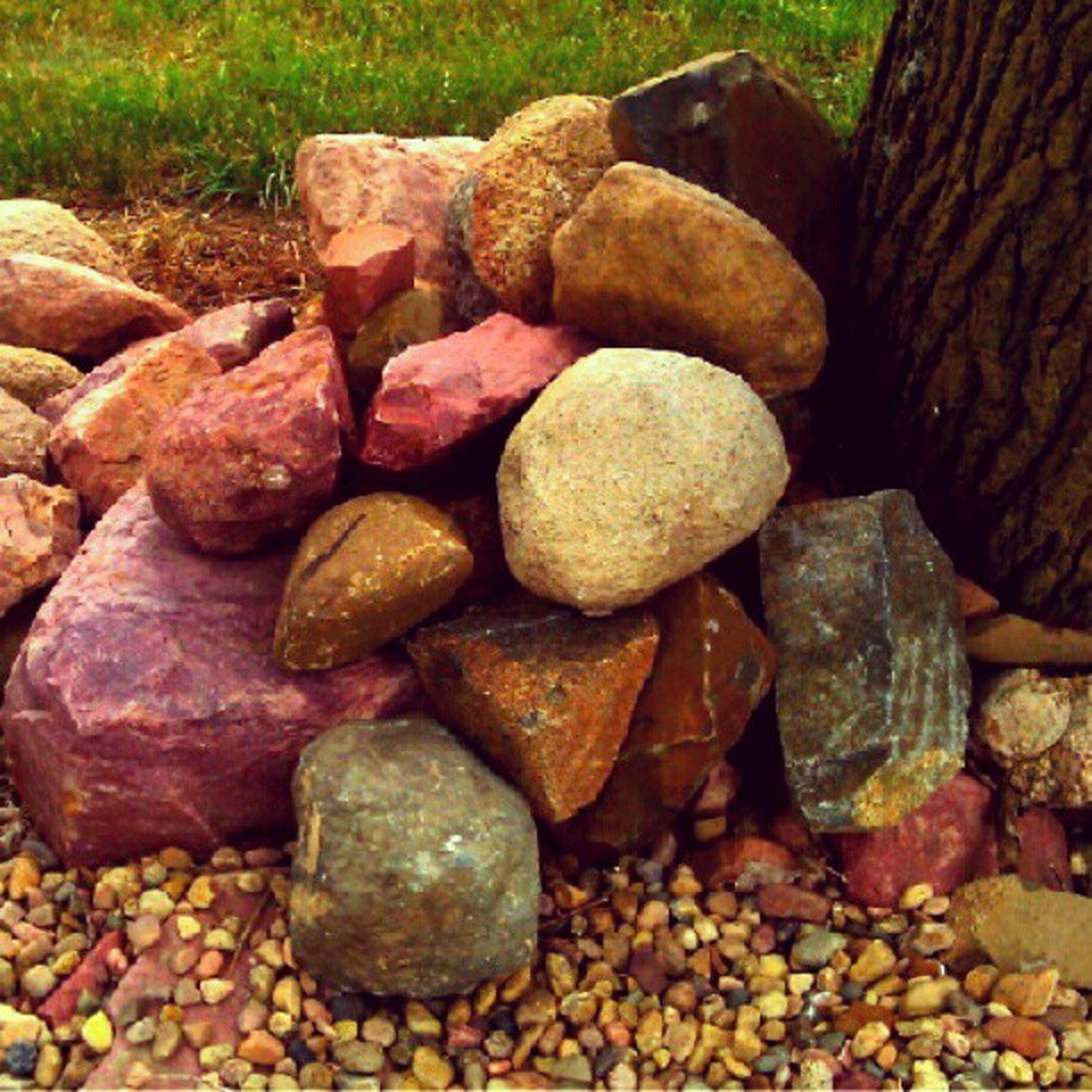 stack, abundance, large group of objects, stone - object, log, firewood, deforestation, rock - object, pebble, lumber industry, stone, timber, nature, heap, wood - material, outdoors, tranquility, day, textured, no people