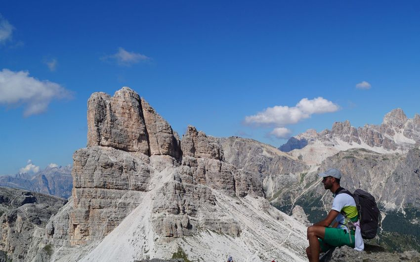 Mountain Rock Rock - Object One Person Alto Adige Dolomites, Italy Myhome That's Me Homeiswherethemountainsare