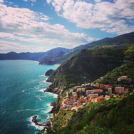 Delikt! Riomaggiore Laspezia Cinqueterre Liguria unesco italy riviera kardemommeby