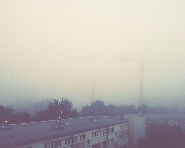 Wroclaw, Poland Foggy Morning Fog Cityscapes City Life Morning Igerswroclaw Igerspoland