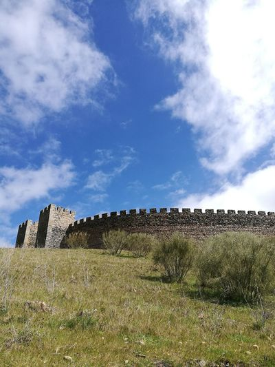 Aldeias De Portugal Alentejo Castle Portugal Village Wall Wall - Building Feature Front View Sky Cloud - Sky Landscape