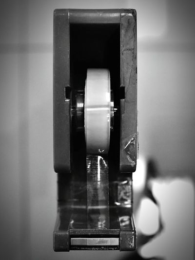Indoors  Old-fashioned Tapes Tape Dispenser Stationery Office Office Desk Office Supply Monochrome Bwphotography Transparent Tape