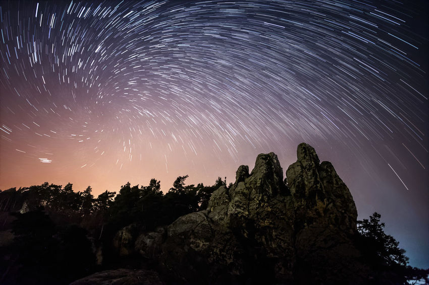 Hamburger Wappen Hamburger Wappen Vortex Astronomy Beauty In Nature Galaxy Harz Long Exposure Low Angle View Milky Way Motion Nature Night No People Outdoors Rock Rock - Object Scenics - Nature Sky Space Star Star - Space Star Field Star Trail Tranquil Scene Tranquility