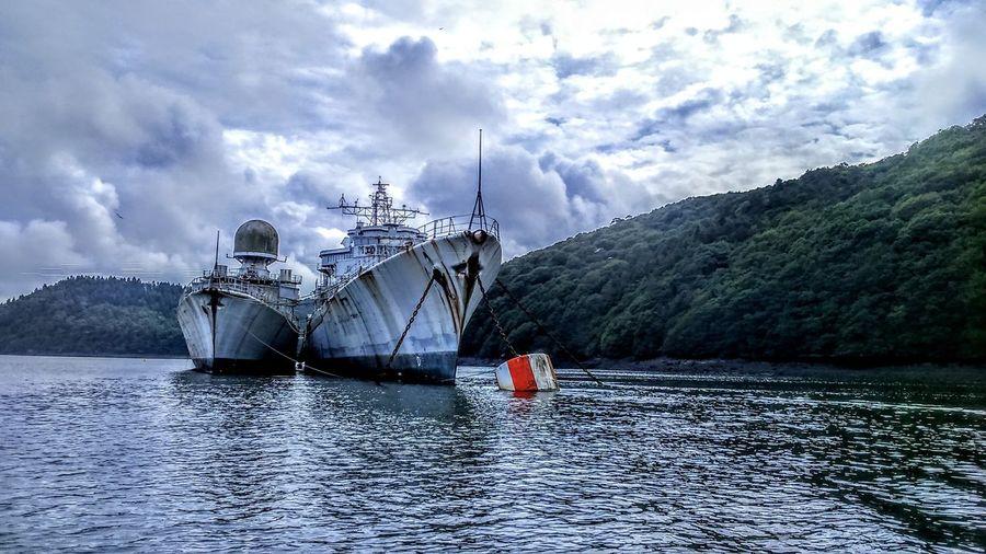 Navy Boats Retreat Old Boat Bretagne Brest First Eyeem Photo