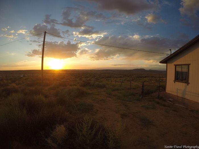 Home Is Where The Art Is Sunset Sunset And Clouds  Southwest  Navajo Navajo Nation Navajo Reservation Navajo Country Desert Desert Life Desert Landscape Landscape Landscape_photography