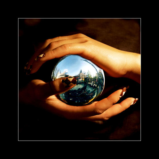 Magical Astronomy Close-up Day Holding Human Body Part Human Hand Indoors  Magic Magic Moments Nature One Person People Planet Earth Real People Reflection Technology