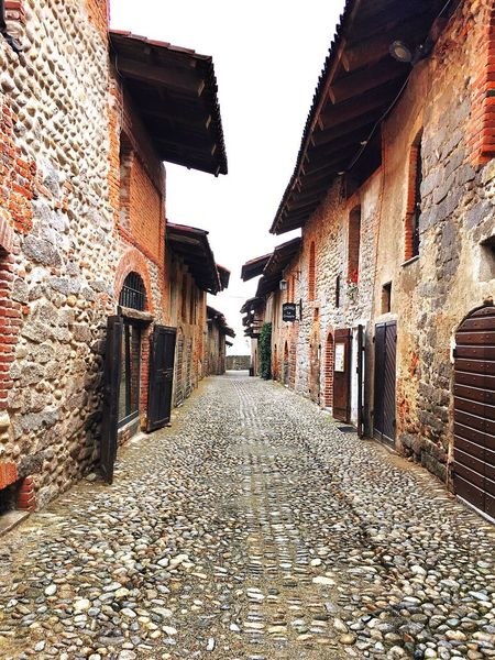MedievalTown Medieval Architecture Medieval Architecture Building Exterior Cobblestone The Way Forward Alley Built Structure Outdoors No People