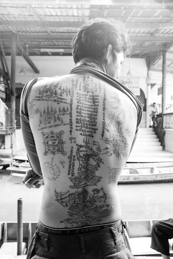Spotted In Thailand Tattoo Life Monochrome Photography