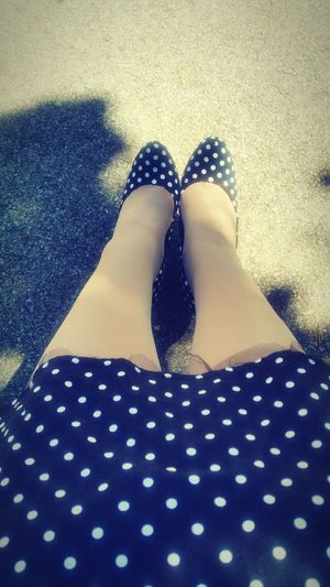 50style Retro Retrofashion PinUpGirl Pinupstyle HighHeels Dots First Eyeem Photo