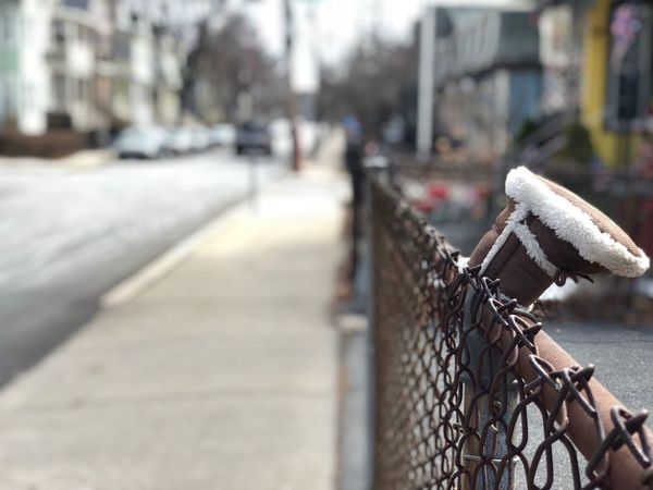 Sad. Fence Lost Things Lost Tiny Things Baby Focus On Foreground Safety Security Protection Day Close-up No People City