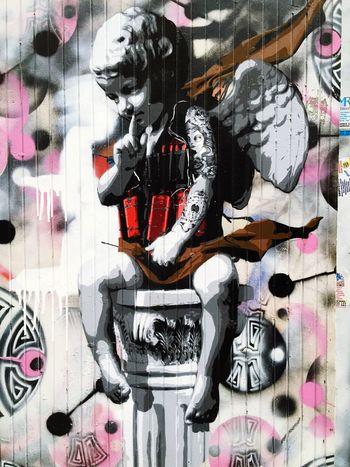 London Graffiti Banglatown Memories Niceholiday Love Funnymoment January 2016