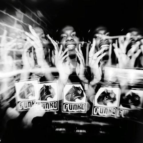 I don't feel much EyeEm Best Shots EyeEmNewHere EyeEm Gallery EyeEm Selects Jon Daniels Eye4photography  EyeEm Best Shots - Black + White Toronto Boys Single Object Party Dj City Fan - Enthusiast Human Hand Stadium Crowd Motion Sport Speed Sportsman Blurred Motion Sports Event
