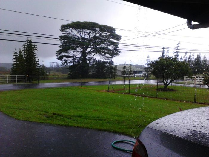 It's fricking storming