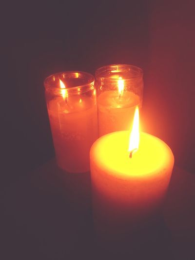Love candles ❤ Flame Light And Magic Taking Photos