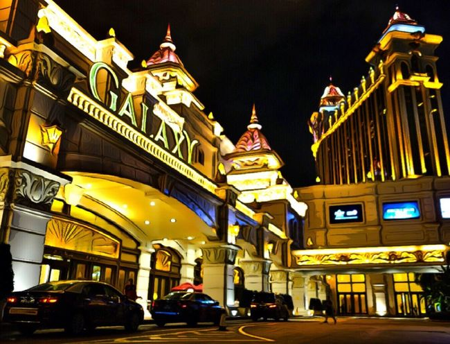 Galaxy Macau Night View Traveling Iamonmywaytoeverywhere