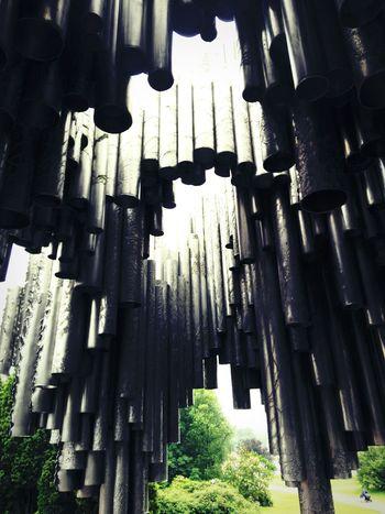 TakeoverMusic Close-up Sibeliusmonument Jeansibelius Sibelius Parc Sibelius Music Art Klang Tones Helsinki Finland Finlandia