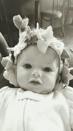 Babygirl ♥ Baby My Baby Babygirl Baby ❤ Baby Girl Headband Babygirls Babylove Babygurl