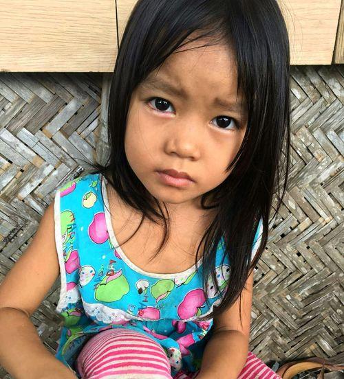 Vietnamesegirl Little Girl Big Eyes Girl Kid Pretty Eyes Pretty Girl in Hoc Mon, Ho Chi Minh City