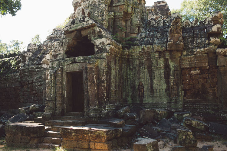 Siem Reap Cambodia Angkor Architecture Built Structure History The Past Day Ancient Old Old Ruin Religion Belief Building Exterior Building Place Of Worship No People Travel Destinations Ancient Civilization Spirituality Solid Tourism Outdoors Ruined Archaeology Deterioration