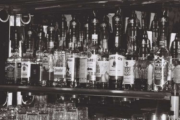 Bar Willie's Spirits EyeEm Gallery Booze Display Glass - Material Glass Bottles Collection Glass Art Reflection Billiards Bestoftheday EyeEm Best Shots Eyeemphotography Blackandwhite Blackandwhite Photography Bandwphotography Allday Closing Brenden Water Close-up Alcoholic Drink Various Mother Board Shop For Sale Collection