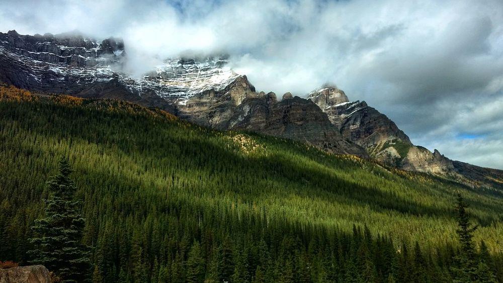 Canadian Rockies, Banff, Alberta Nature Mountain Cloud - Sky Landscape