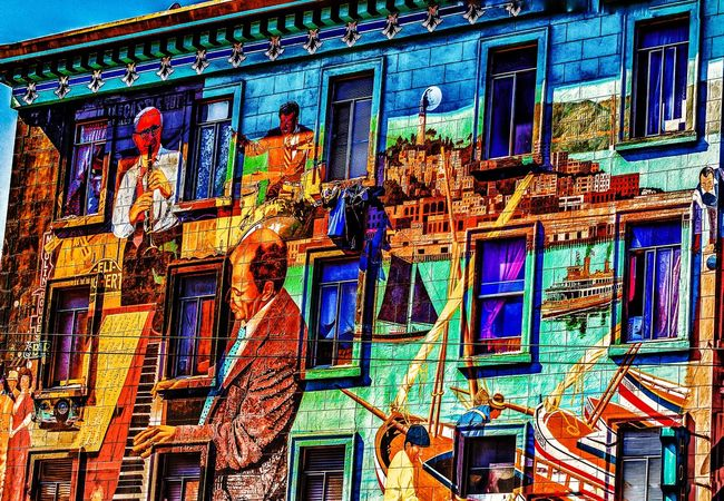 Architecture Wandmalerei Grafitty Kunst Mural Mural Art Art Kreativ Colour Struktur No People Multi Colored Building Paint