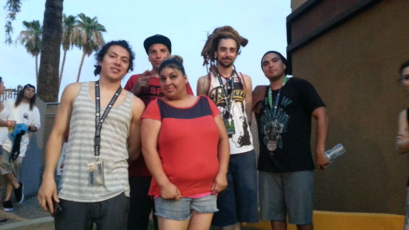 Tribal Seeds with sister in Mesa Arizona.Awesome reggae band, even better classy people. Reggae Taking Photos