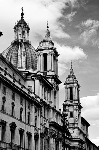 Piazza Navona Blackandwhite Photography Beautiful Architecture Black And White Photography Architecture_collection Architecture_bw Church City Square Rome Like4like Followme Beautiful Day Moments Baroque Photography Building Ancient Blackandwhite Amazing Architecture Art Black And White Beauty Beautiful Churches Navona